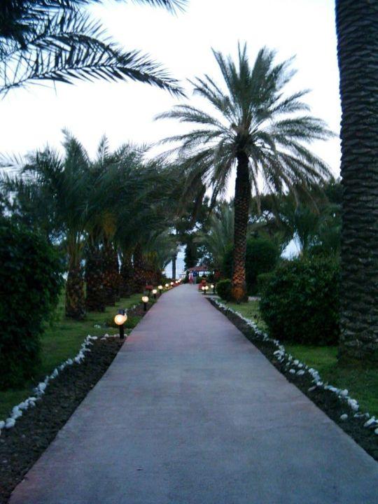 Weg zum Strand! Queen's Park Resort Göynük