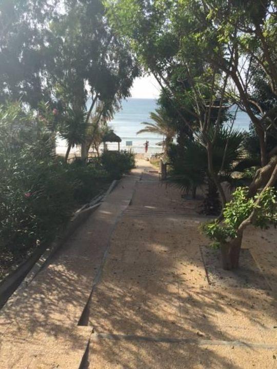 Der Weg zum Meer Hotel Méditerranée Thalasso Golf