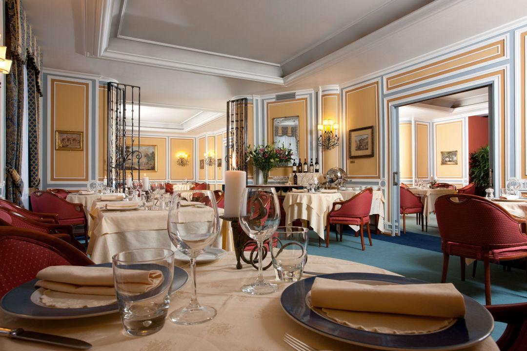 Restaurant Belisario (A la carte Area). Hotel Victoria Roma