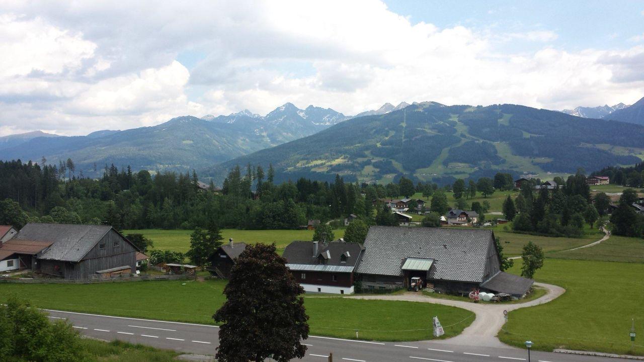 Ausblick vom Zimmer Hotel Berghof