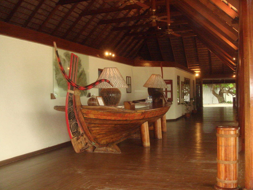 Rezeption  VOI Maayafushi Resort