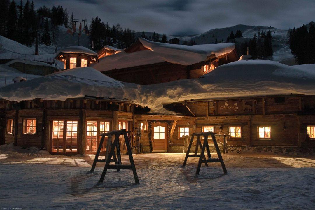 Winternacht Gehwolf Alm