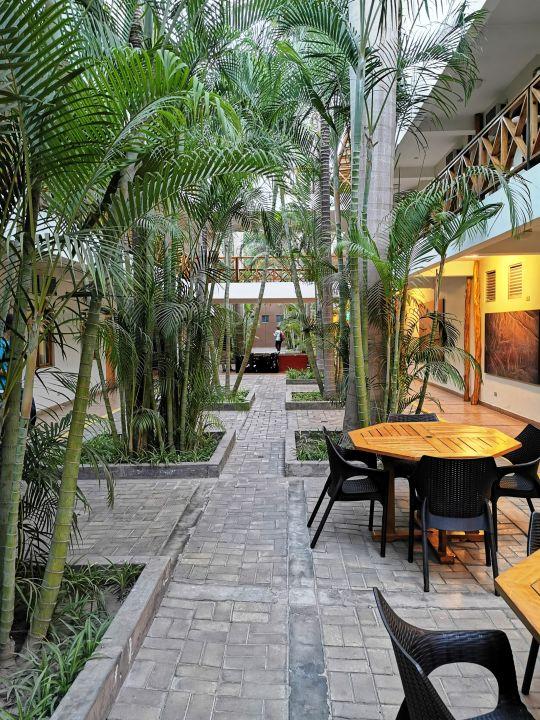 Gartenanlage Hotel Casa Andina Nasca