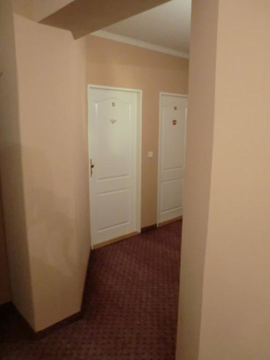 Zimmertür Hotel Salva Guarda