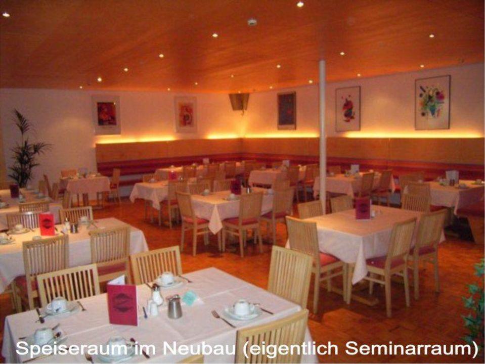Speiseraum im Neubau Hotel Widderstein