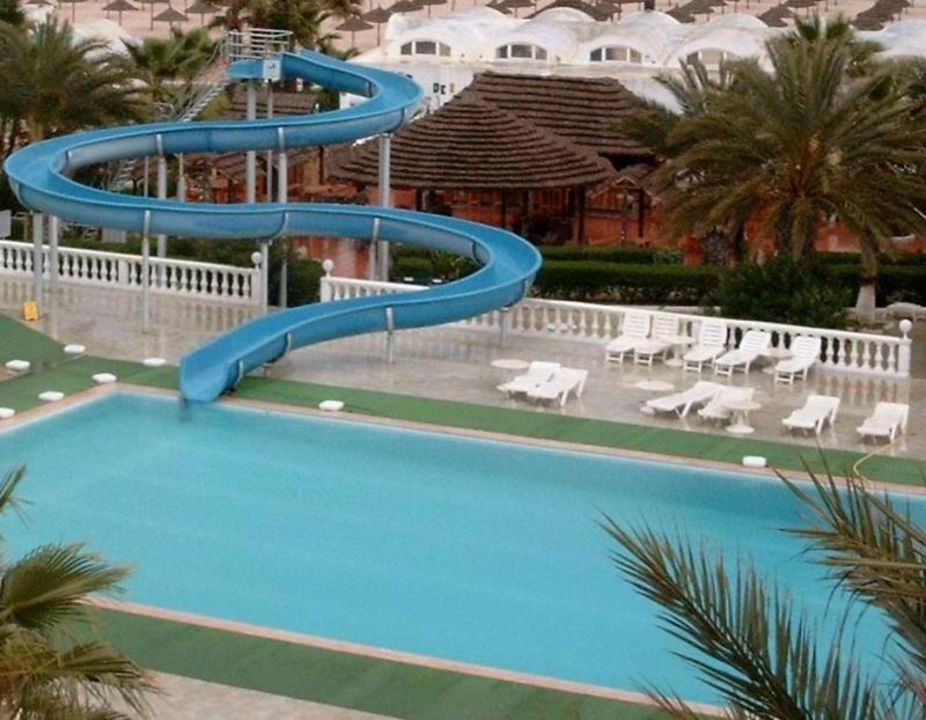 Großer Pool Hotel Paradis Palace