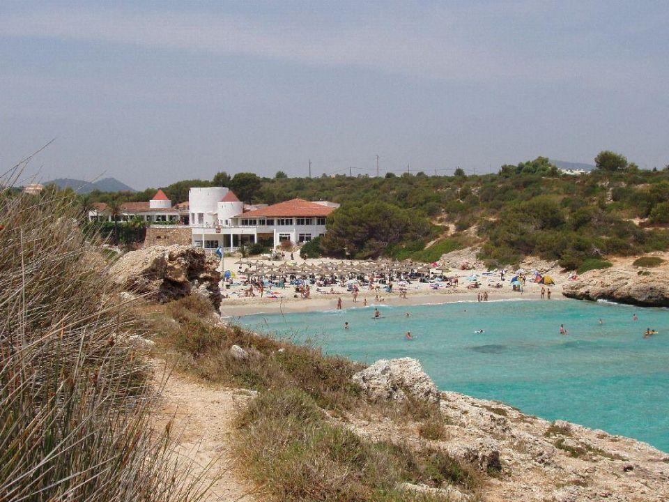 Blick auf das Hotel Club Hotel Tropicana Mallorca