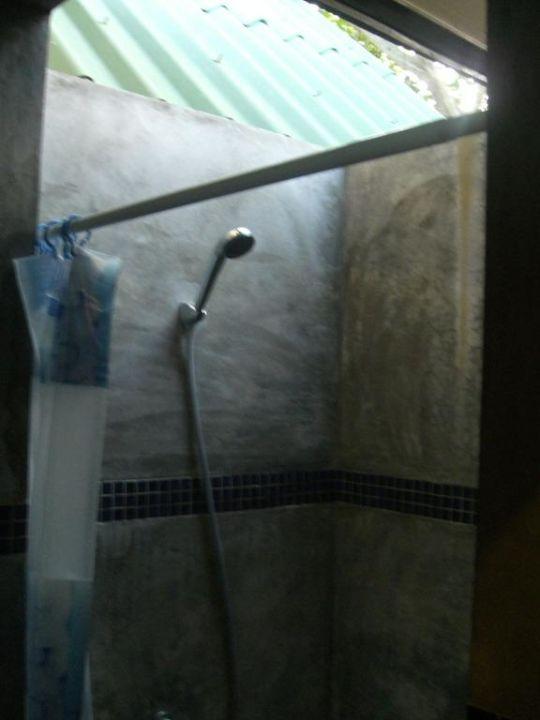 Offene Dusche - wurde vorher nicht kommuniziert! Phi Phi Villa Resort
