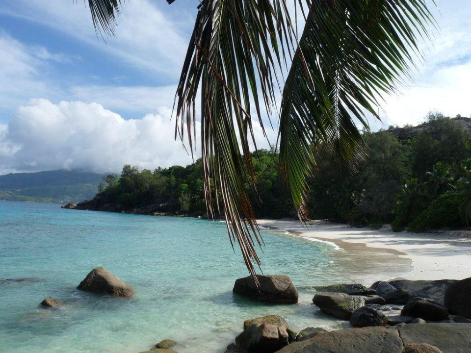 Blick auf die Anse Soleil Hotel Beachcomber Anse Soleil