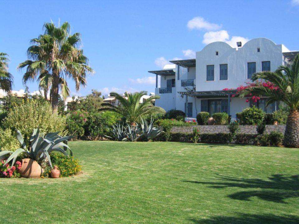 Bild garten mit bungalow zu aks annabelle beach resort for Garten pool 4m