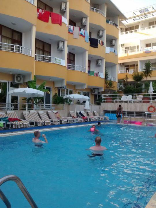 Klein Aber Ausreichend Muz Hotel Alanya Holidaycheck Türkische