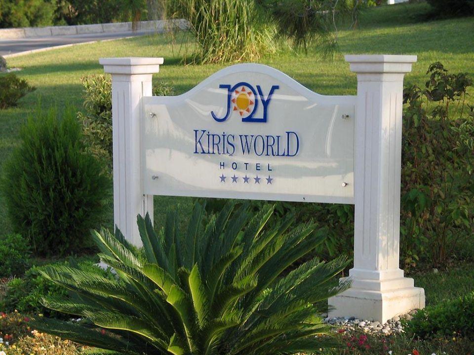 Einfahrt Hotelanlage Kiriş World Hotel by Voyage  (geschlossen)