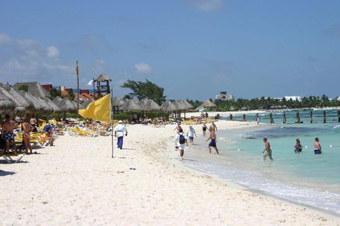 Am Strand des Paraiso Beach IBEROSTAR Hotel Paraiso Beach