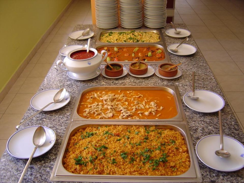 Mittagsbuffet Hotel Titan Garden