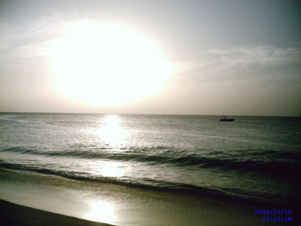 Sonnenuntergang Hotel Riu Funana