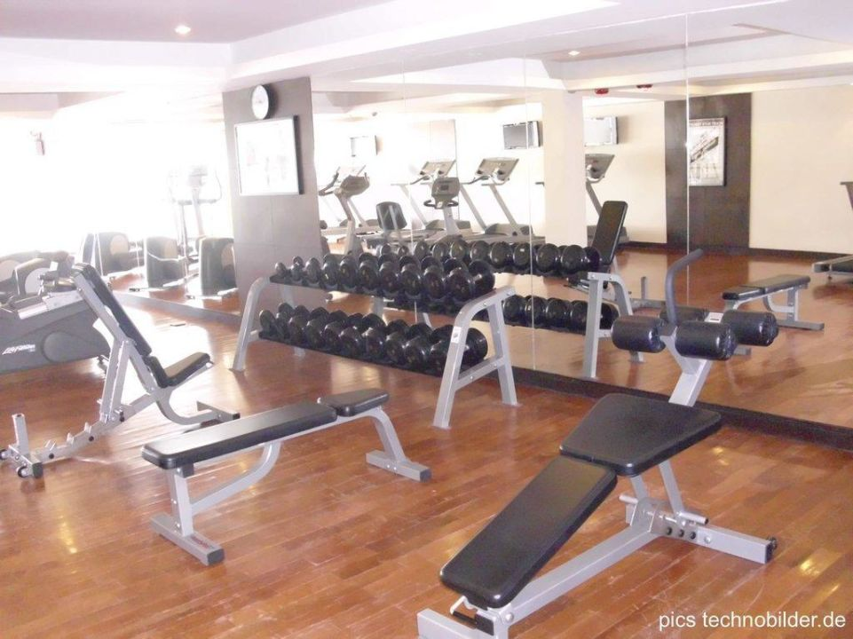 Fitnessraum Hotel Novotel Hua Hin Cha-Am Beach Resort