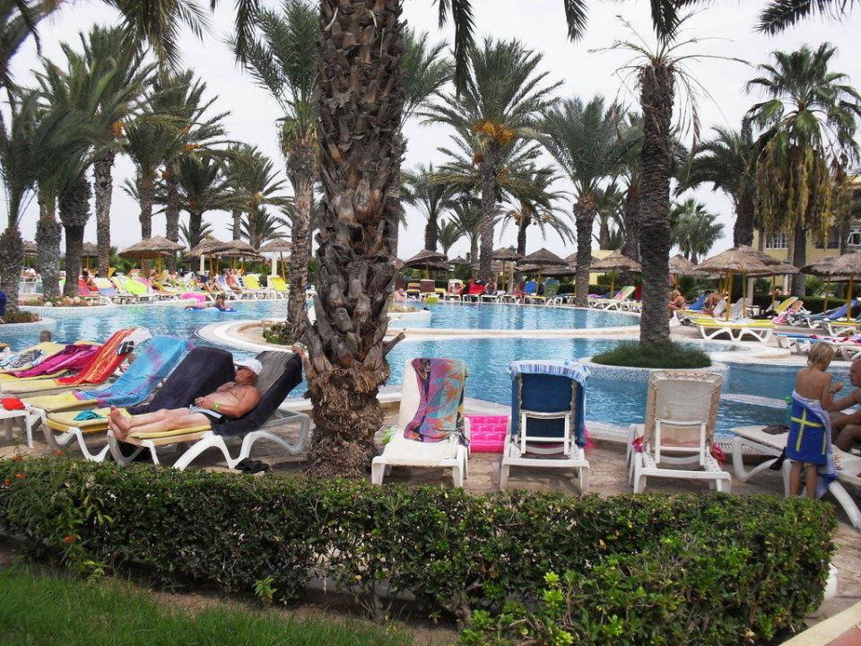 Piscine  Hotel Houda Golf & Beach Club