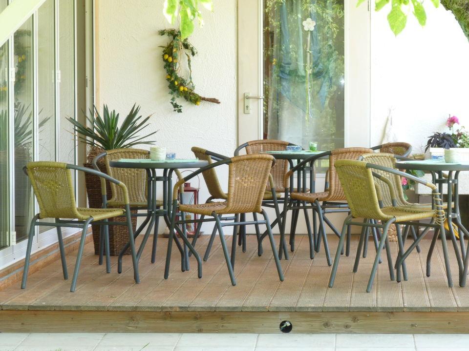 Terrasse Gästehaus Spoth