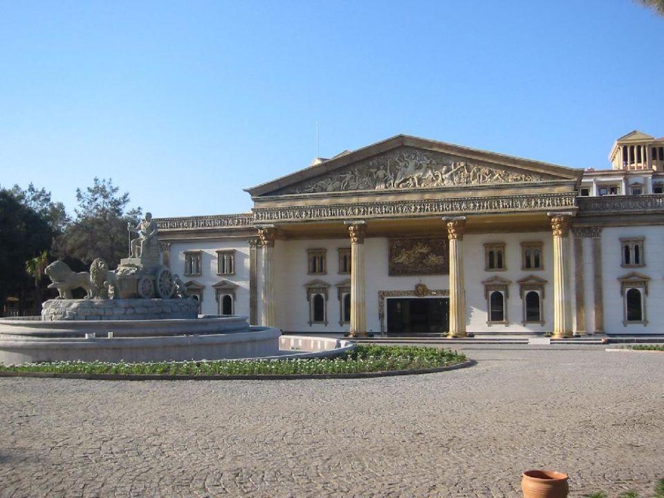 Eingangsbereich Hotel Cesars Temple DeLuxe Belek