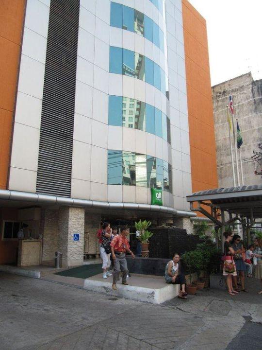 Eingangsbereich All Seasons Bangkok Siam