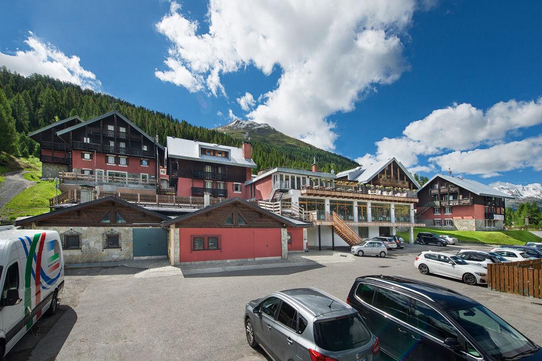 Außenansicht Alpen Village Hotel