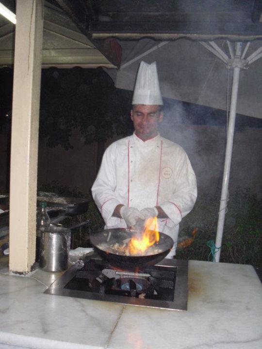 Koch im Einsatz Hotel Grand Seker