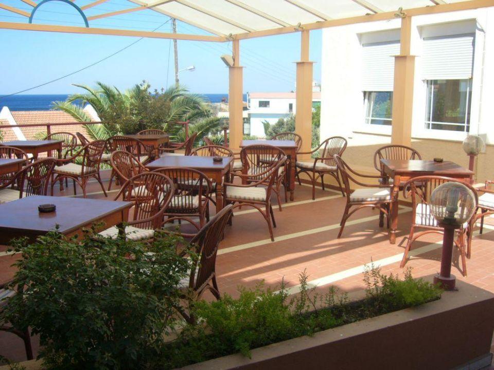 Früstücken im Freien Hotel Aegean Sun