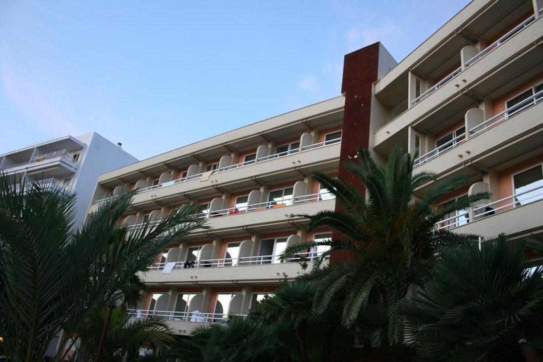 Rückseite des Hotels Hotel & Spa Ferrer Concord