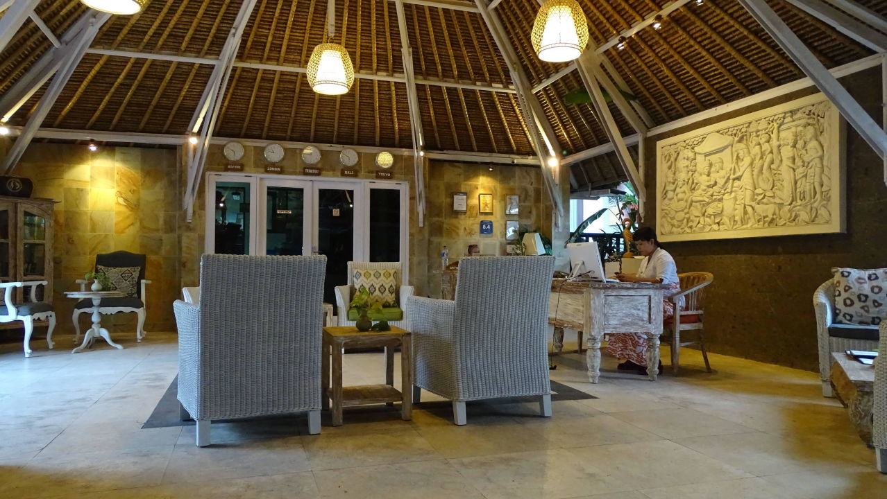 Rezeption Hotel Tauch Terminal Resort Tulamben
