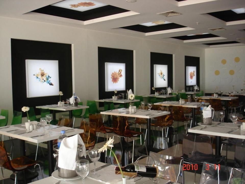 Der moderne Speisesaal Amara Dolce Vita Luxury