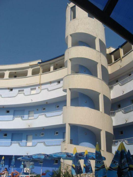 Schody Hotel Atos