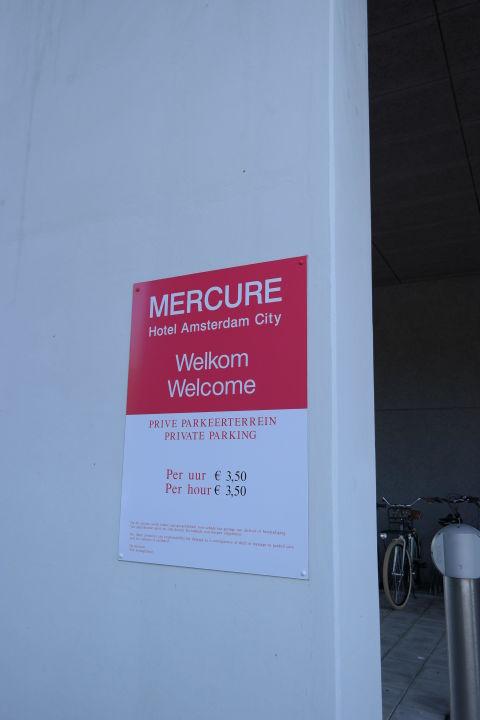 Preis Fur Parkplatz Mercure Hotel Amsterdam City Amsterdam