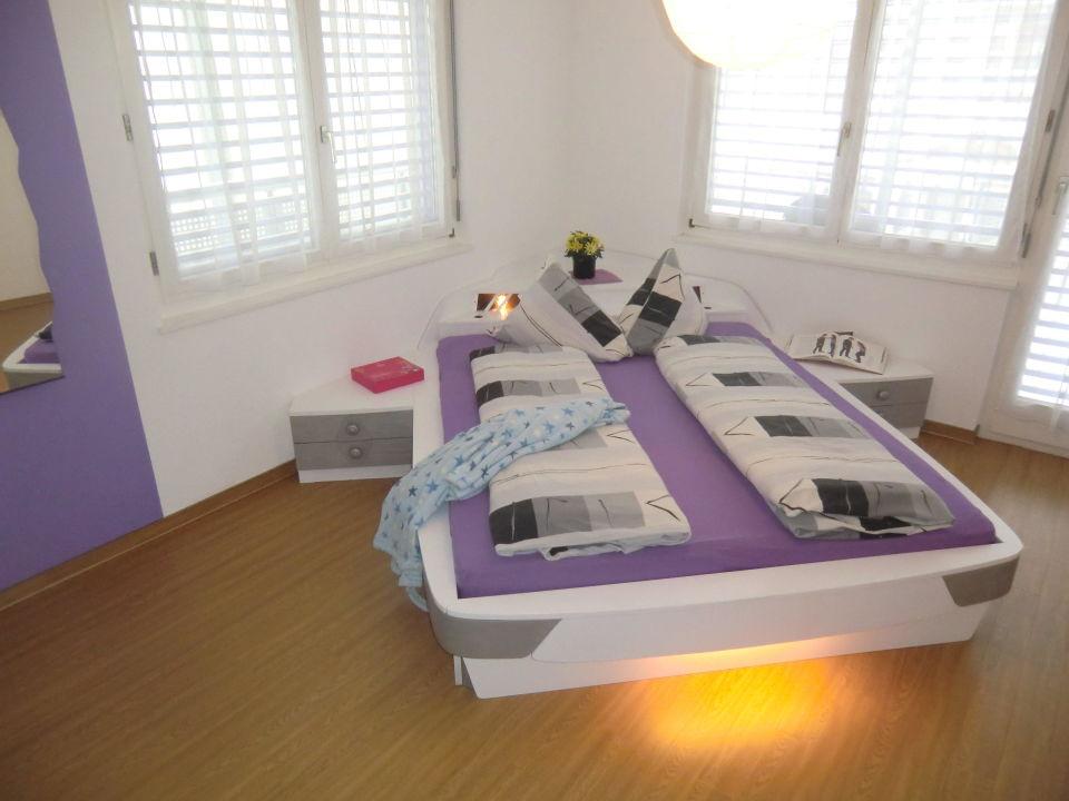 Schlafzimmer 3.5-Zimmerwohnung Haus Alcazar