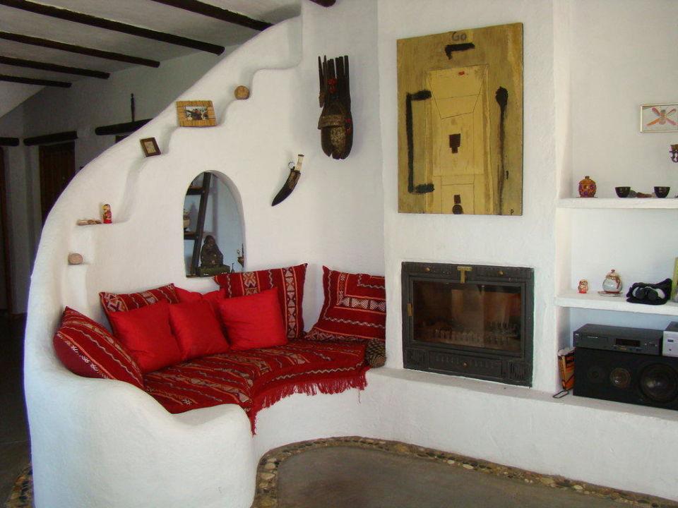 Sitzecke Im Wohnzimmer Finca La Isla