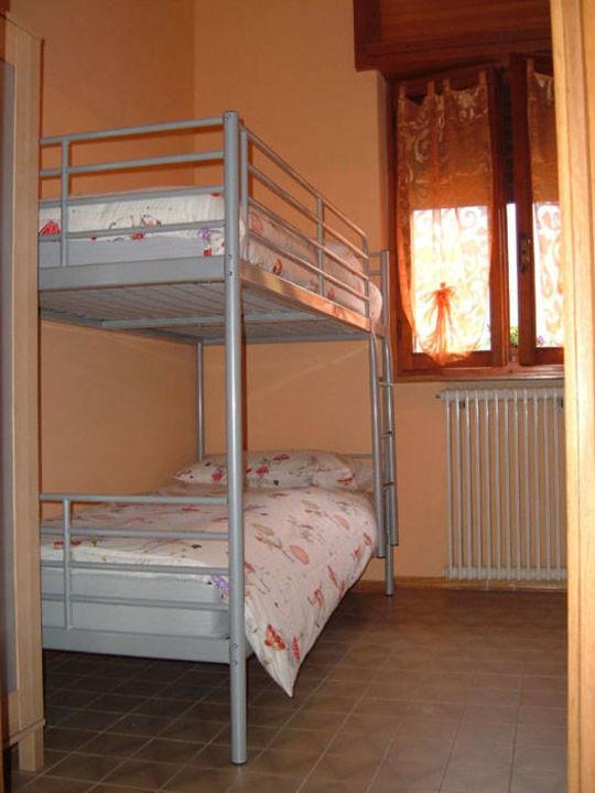 Camera con letto a castello\