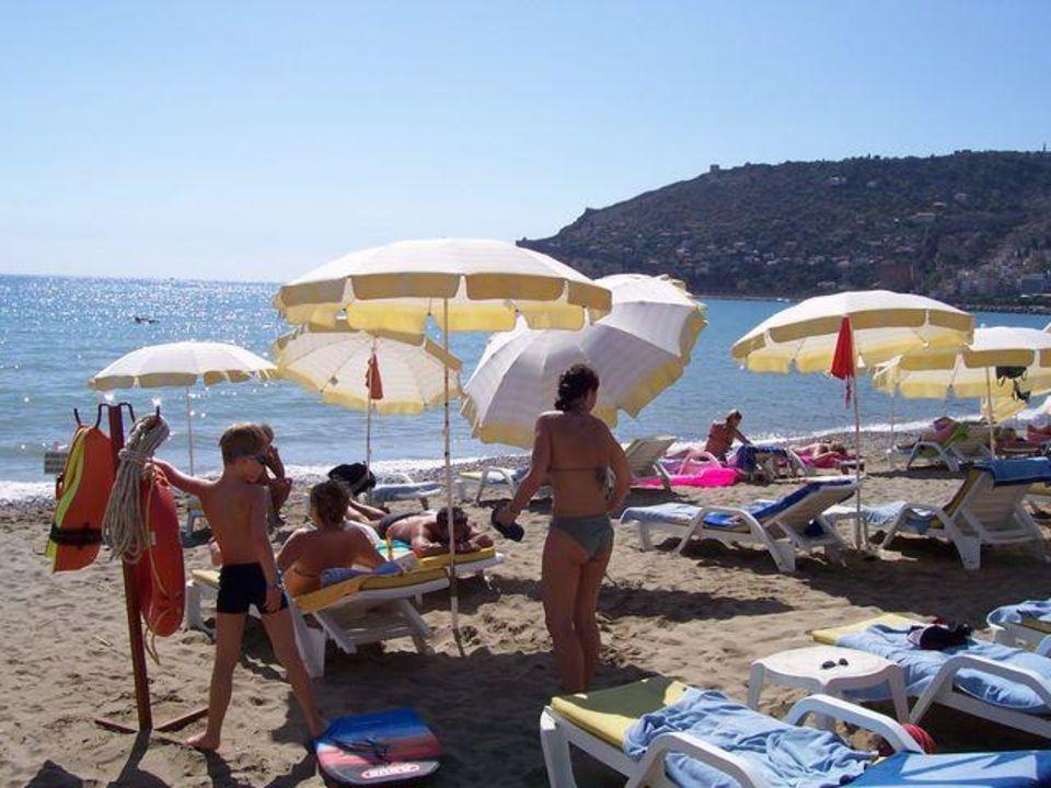 Sonnenschirm und Liege gratis Hotel Panorama