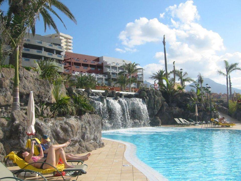 Blick Vom Pool Zum Hotel Adrian Hoteles Roca Nivaria Costa Adeje