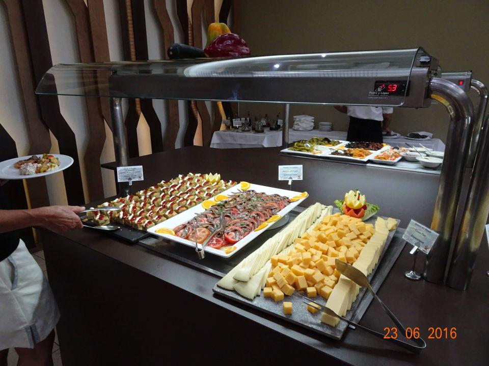 Teil des Vorspeisen-Buffets Hotel Valle del Este Golf Spa