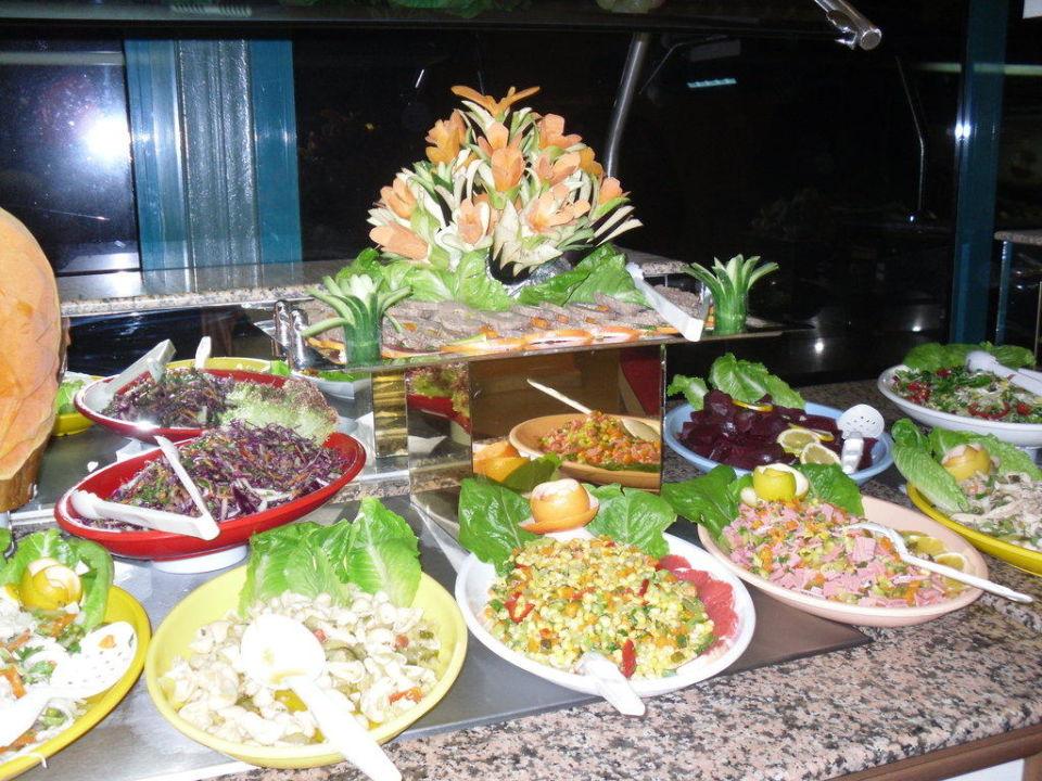 Salat-Büffet im Hotel-Restaurant Grand Seker Hotel