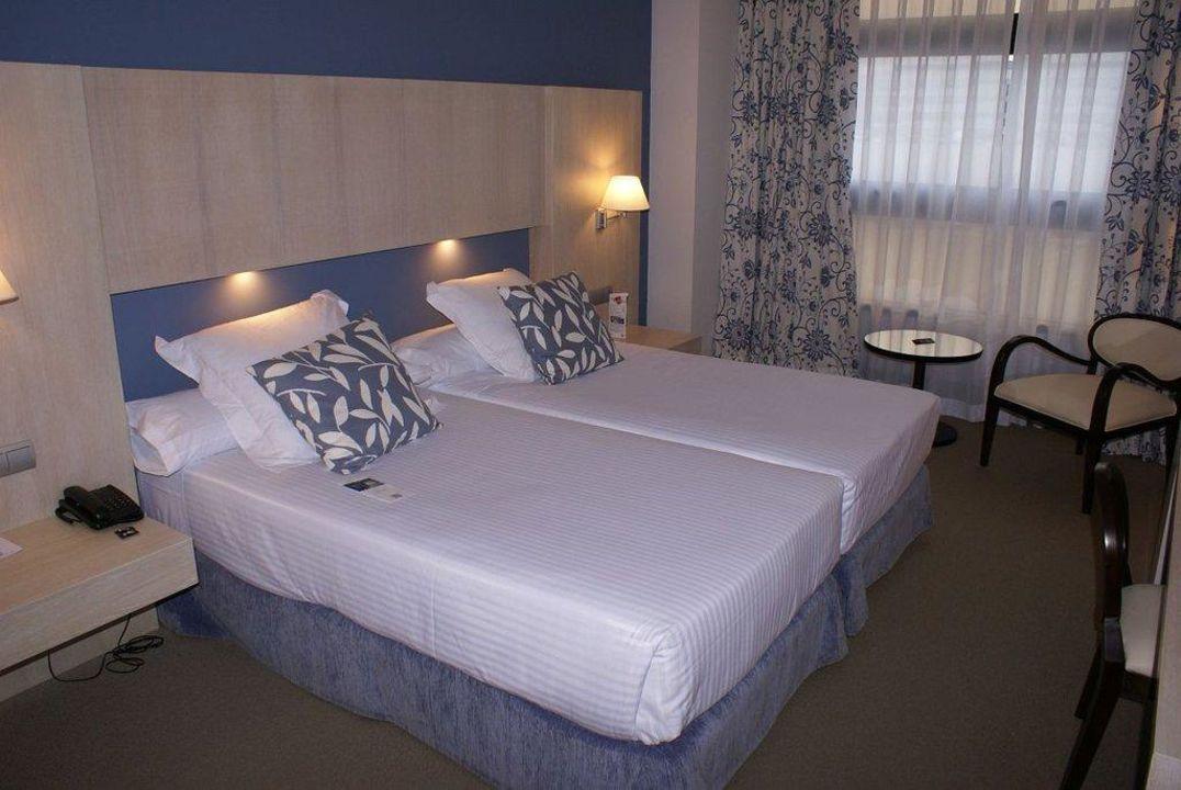 Zimmer mit Twin Bed Hotel Nuevo Boston