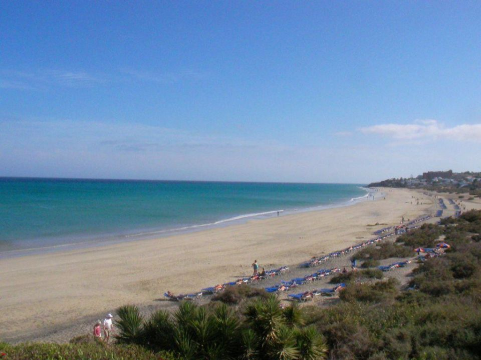 Strand-Blick vom Hotelzimmer SBH Hotel Taro Beach
