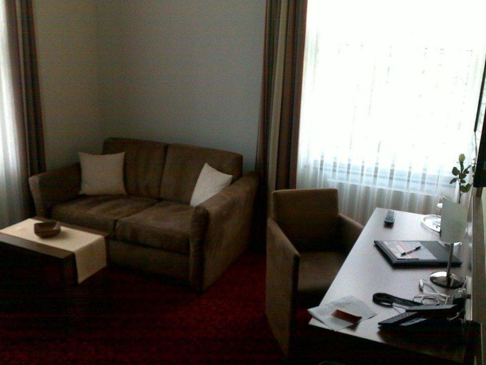 Zimmer 38, Sitzecke Hotel Brühlerhöhe