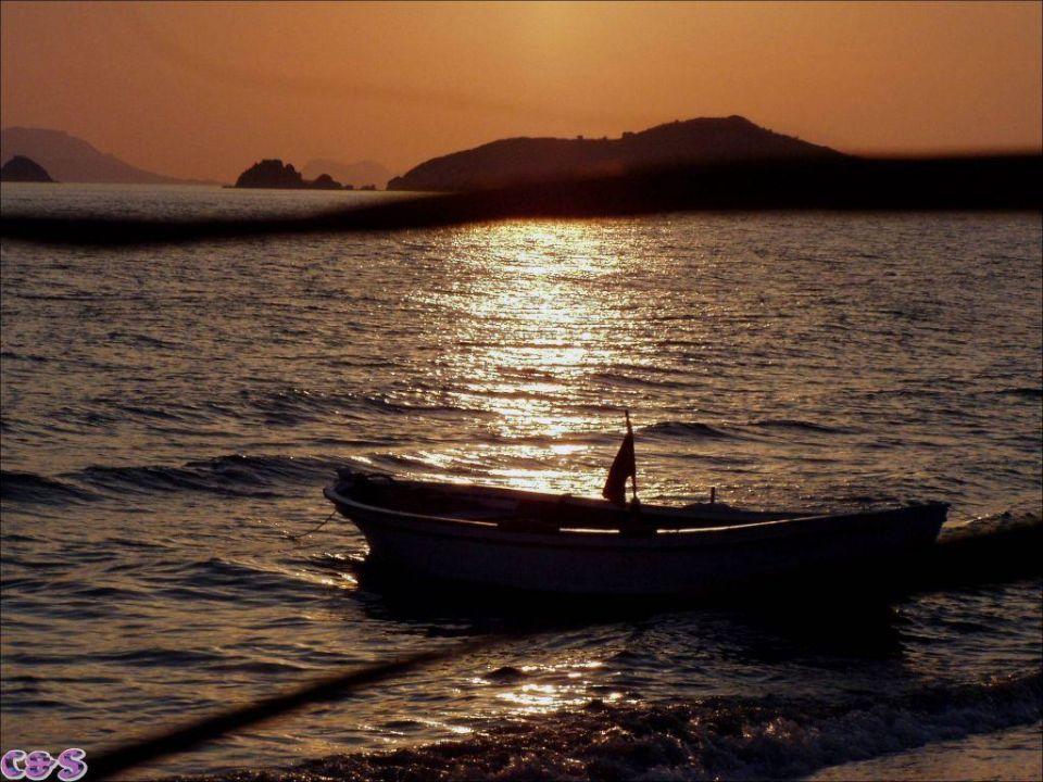 Sonnenuntergang Golden Beach Bodrum