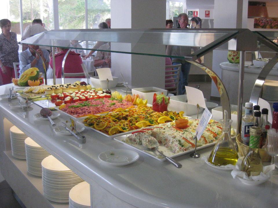 Eines Von 2 Salatbuffets Allsun Hotel Paguera Park Peguera