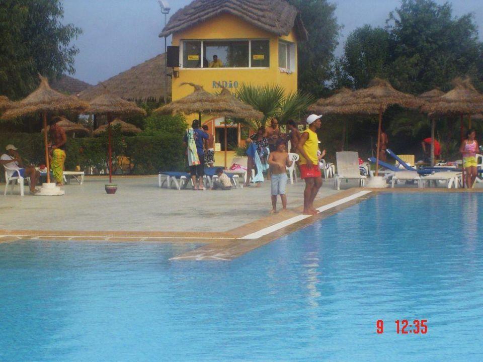 Poolbereich Hotel Caribbean World Mahdia