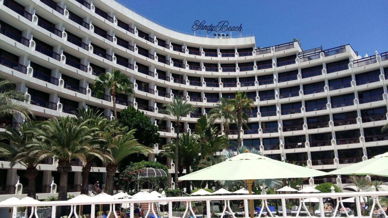 Außenansicht Seaside Hotel Sandy Beach