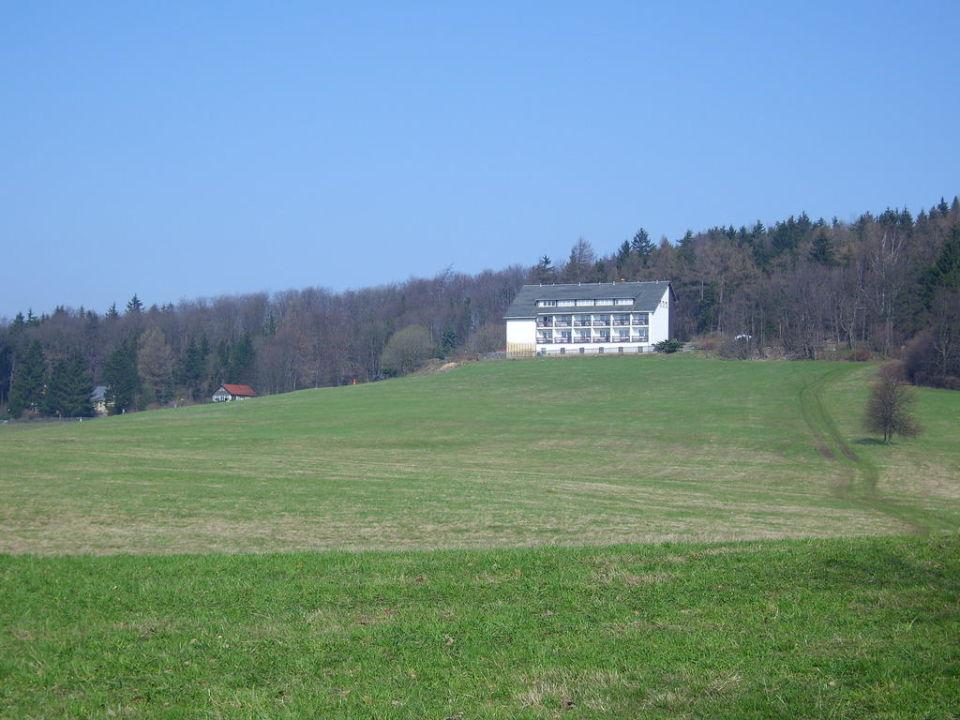 Blick zum Hotel Hotel Zum Hochwaldblick