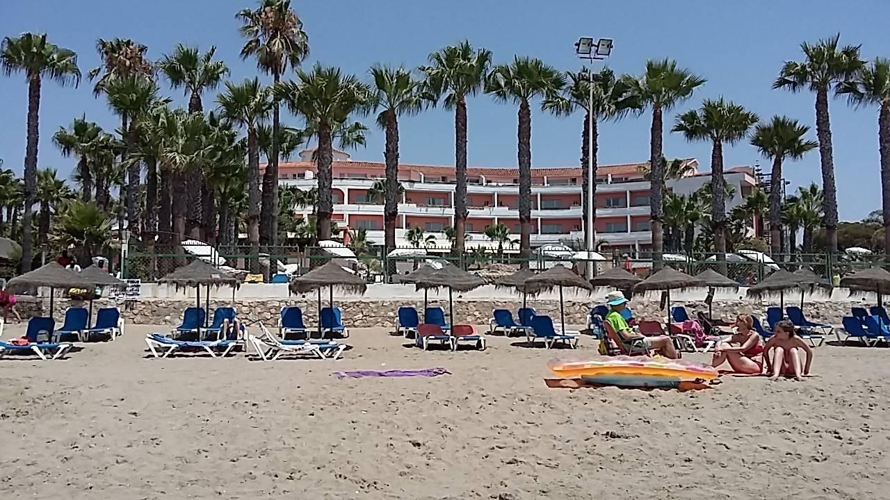 Blick Vom Strand Hotel Marbella Playa Marbella Holidaycheck