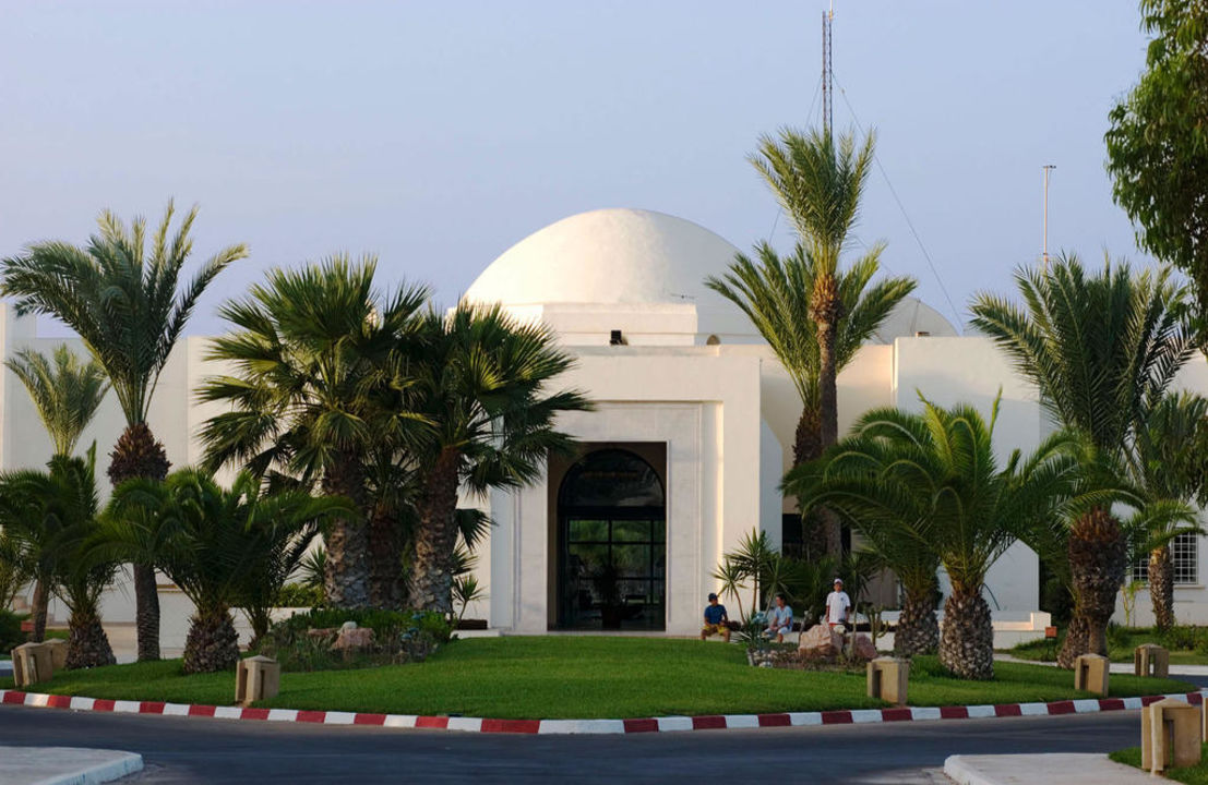 Entrée Hôtel Yadis Djerba Golf Thalasso & Spa