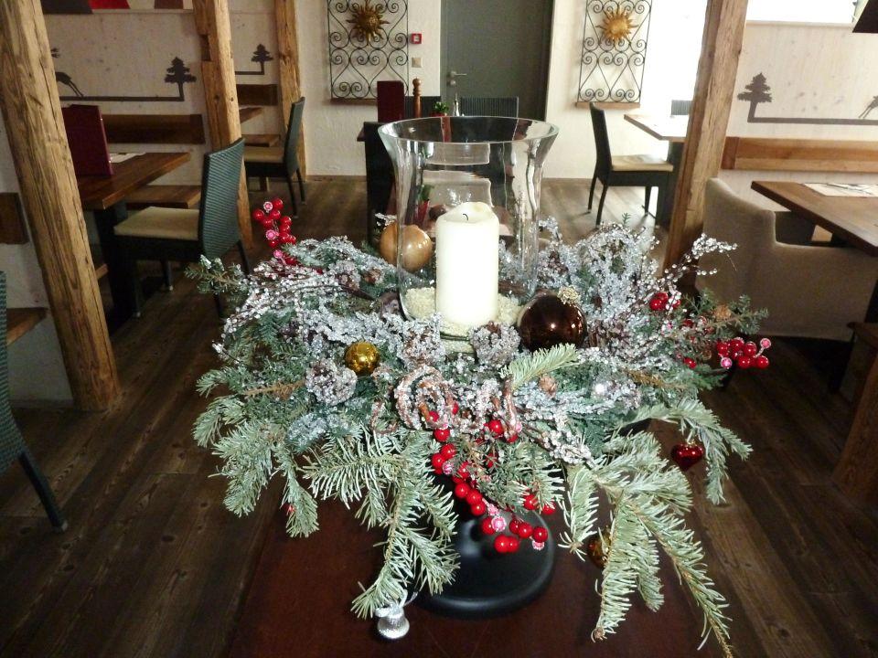 Weihnachtliche dekoration hotel the piz in st moritz for Weihnachtliche dekoration